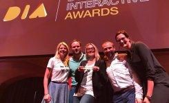 Zilveren DIA (Dutch Interactive Award) UM voor Jumbo
